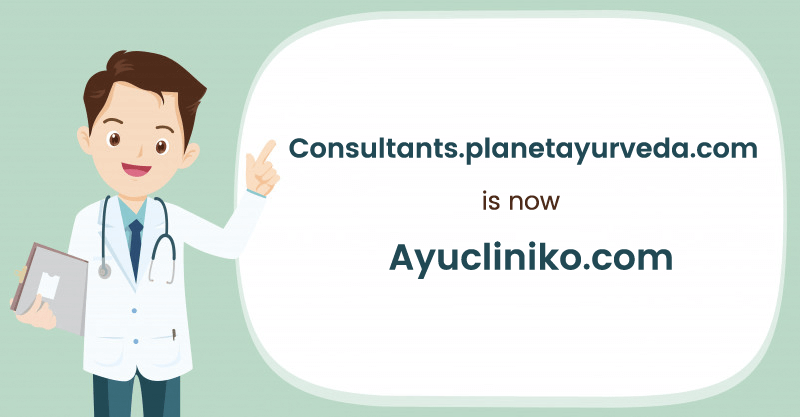 Consultants.planetayurveda.com is now Ayucliniko